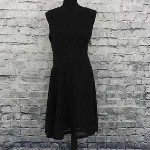 Calvin Klein Mesh Paneled Dress 08970